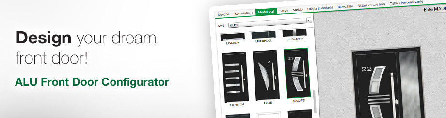 front door configurator - satler windows and doors